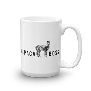 #ALPACABOSS Coffee Mug
