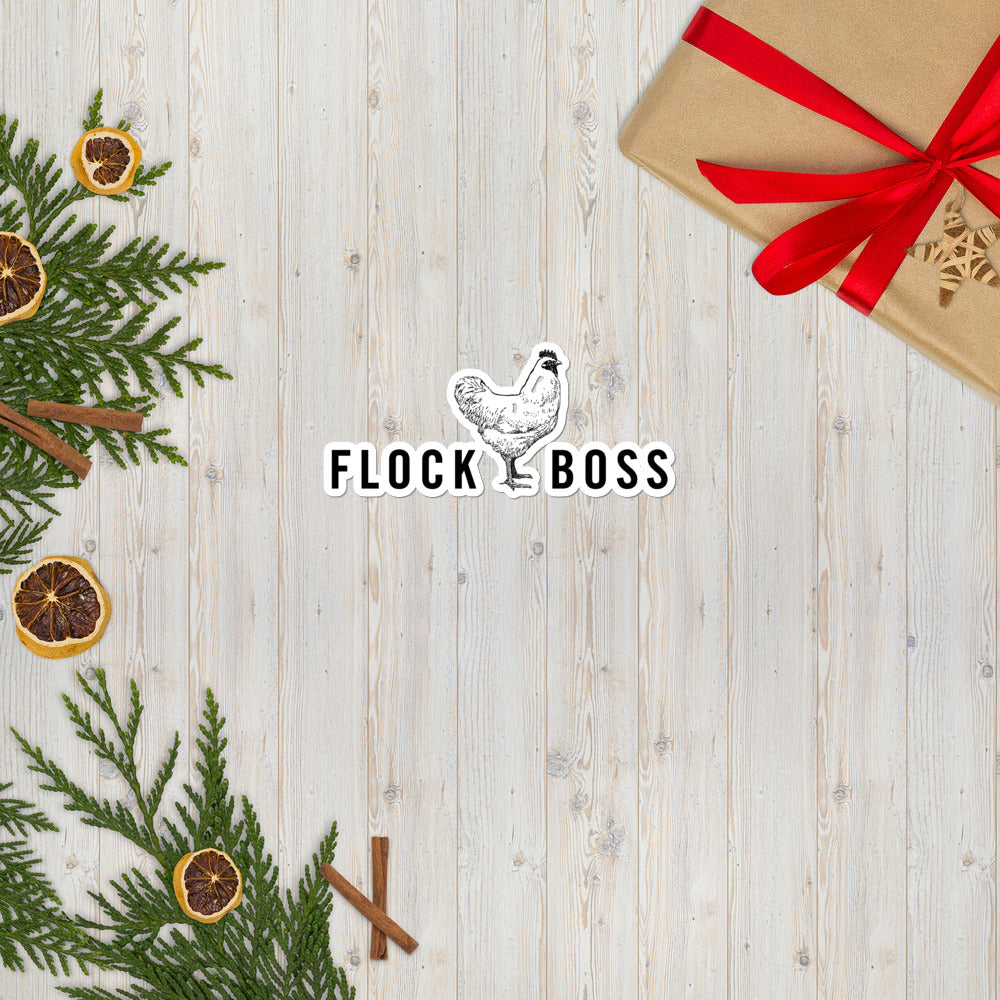 FLOCKBOSS Chicken Bubble-free stickers