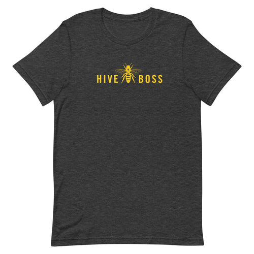 HIVEBOSS Yellow Honey Bee Short-Sleeve Unisex T-Shirt
