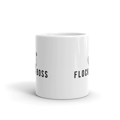 FLOCKBOSS Chicken Coffee Mug