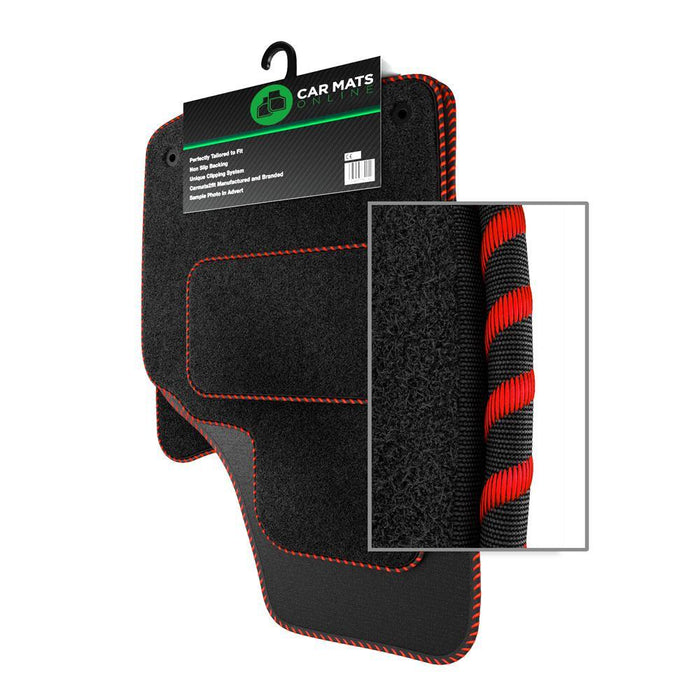 View of a collection of Tailored car mats, specifically Alfa Romeo 147 (2000-2010) Tailored Car Mats