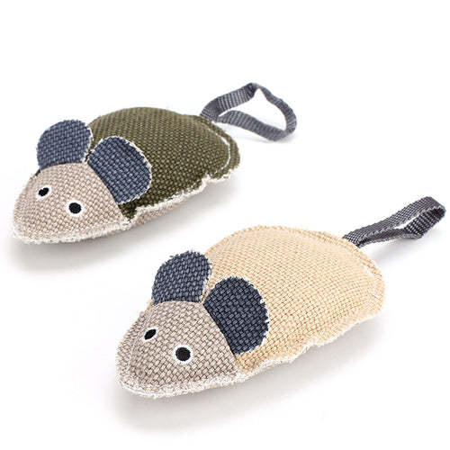 Canvas Mouse Toy - Single