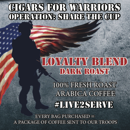 Cigars for Warriors - Loyalty Blend - Dark Roast