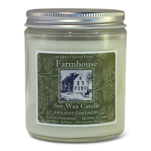 Holiday Greenery Soy Candle