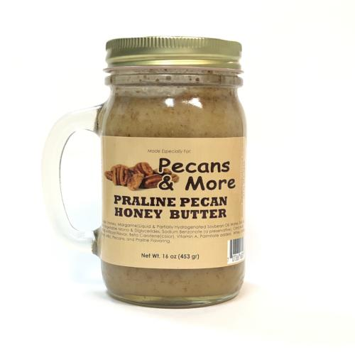 Praline Pecan Honey Butter