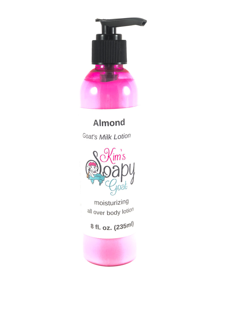 Almond Goats Milk Lotion