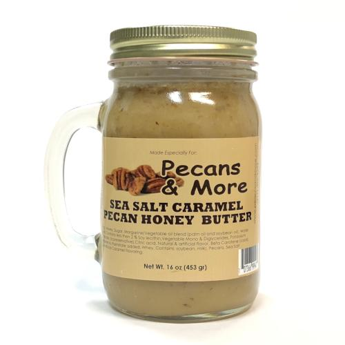 Sea Salt Caramel Pecan Honey Butter