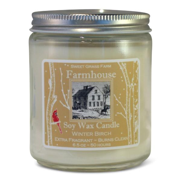 Winter Birch Soy Candle