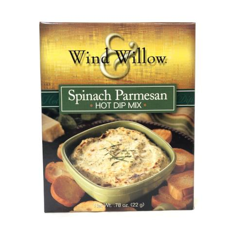 Spinach Parmesan Roll Hot Dip Mix