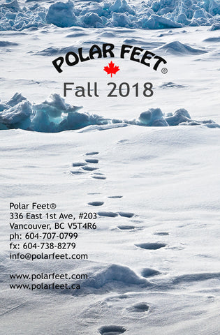 Polar Feet Fall 2018 Catalogue