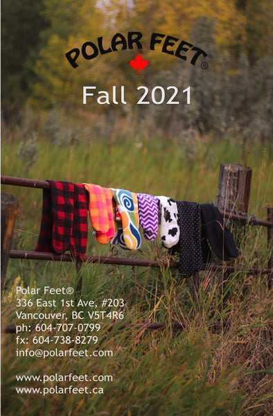 Polar Feet Fall/Winter Catalogue for 2021