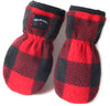Polar Feet Infant's Thumbless Mittens Lumberjack