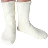 Polar Feet White Berber Fleece Socks