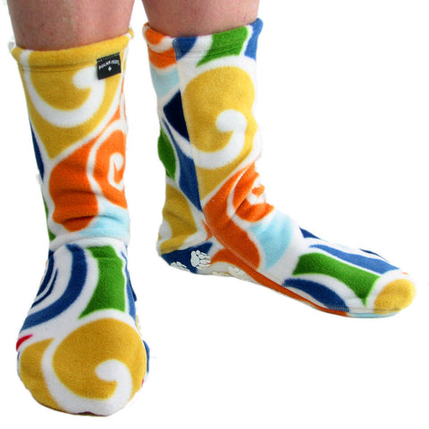 Polar Feet Fleece Socks in Curlz Regular Sole v2