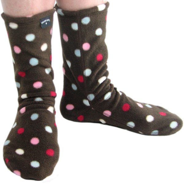 Polar Feet Fleece Socks in Smarties Regular Sole v2