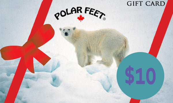 Polar Feet Gift Cards
