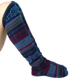 Over The Knee Fleece Socks - Nordic
