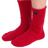 Polar Feet® Fleece Socks - Red