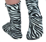 Polar Feet® Fleece Socks - Zebra