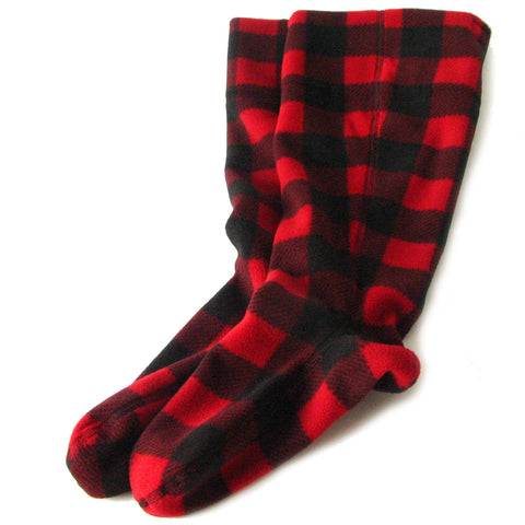 Polar Feet Fleece Boot Liners -  Lumberjack