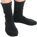 Polar Feet® Fleece Socks All Black