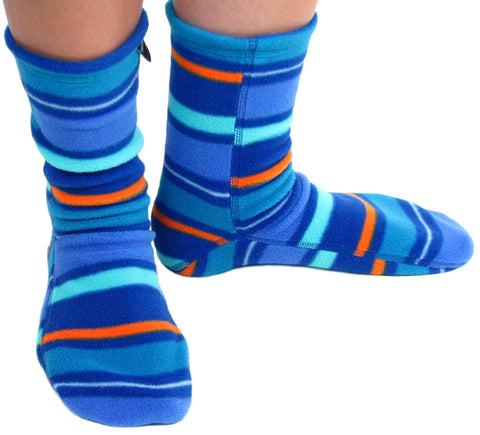 Polar Feet® Fleece Socks Jazz Stripes