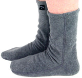 Polar Feet® Fleece Socks - Soft Grey