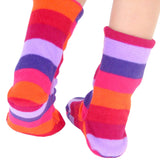 Polar Feet Kids Fleece Socks - Jellybean