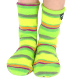 Kids' Nonskid Fleece Socks - Limeade