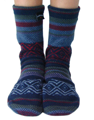 Kids' Fleece Socks - Nordic