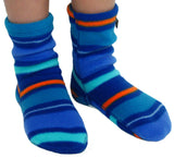 Kids' Fleece Socks - Jazz Stripes