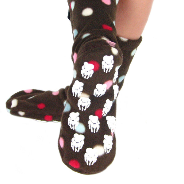Kids' Nonskid Fleece Socks - Smarties