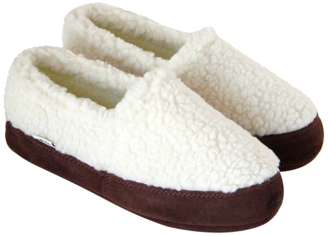 Polar Feet® Kids' Perfect Mocs™ White Berber