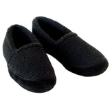 Polar Feet Men's Perfect Mocs in Black Berber v2