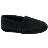 Polar Feet Men's Perfect Mocs in Black Berber Side View
