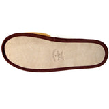 Polar Feet Men's Fine Suede Scuffs with real suede soles