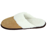 Polar Feet Men's Fine Suede Scuffs Left side