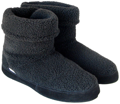 Polar Feet Men's Snugs Black Berber
