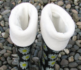 Polar Feet® Fleece Boot Liners - Supersoft Cream