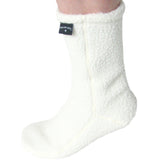 Polar Feet White Berber Fleece Socks Single View