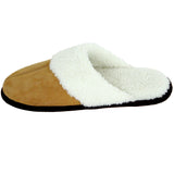 Polar Feet Women's Fine Suede Scuffs Left Side