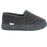 Polar Feet Women's Perfect Mocs in Grey Berber Right Side