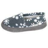 Polar Feet Women's Perfect Mocs in Snowflake Right Side