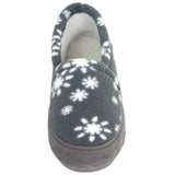 Polar Feet Women's Perfect Mocs in Snowflake Front