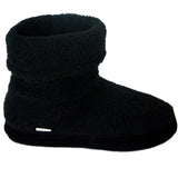 Polar Feet Women's Snugs Slippers in Black Berber v2