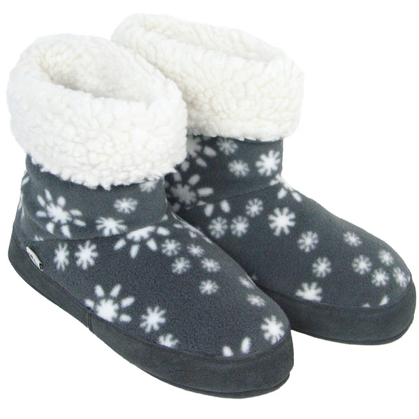 Polar Feet Women's Snugs Slippers in Snowflake