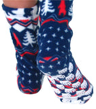 Kids' Nonskid Fleece Socks - Polar Bear