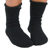 Polar Feet® Supersoft Fleece Socks - Black