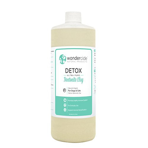 Wondercide Natural Detox Ultra-Pure Bentonite Clay for Dogs & Cats 32oz