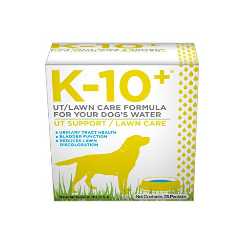 K-10+ UT Support/Lawn Care Supplement for your Dog's Water - 28 ct. Box
